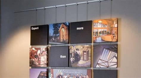 gallery display gallery artwork display and hanging systems contempo system