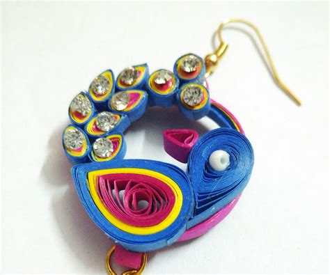 Quilling Paper Jewellery - paper quilling jewellery set 3