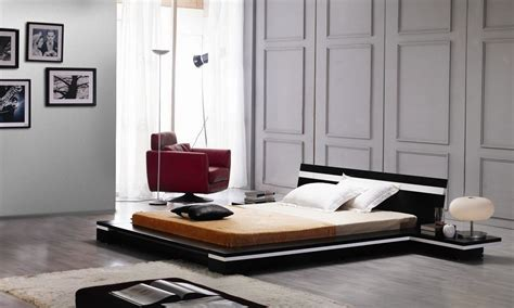 The Floor Beds by A Look At The Modern Platform Bed La Furniture
