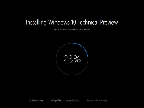 install windows 10 latest build ไมโครซอฟท ออก windows 10 technical preview build 10074