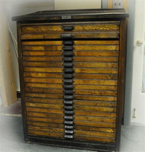 art supply storage cabinet art storage antique 21 letterpress hamilton