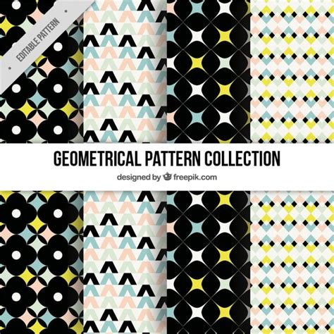 different patterns using geometric shapes fantastic patterns of geometric shapes with different
