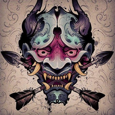 yakuza tattoo brushes best 25 oni mask ideas on pinterest japanese oni mask
