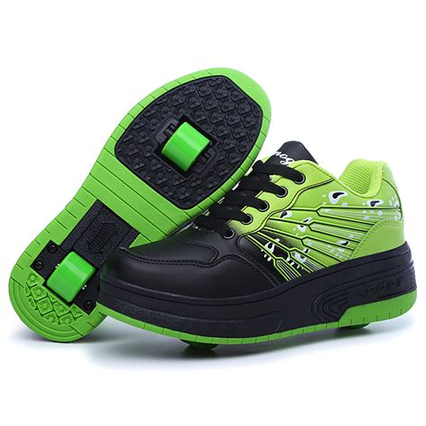 shoes with wheels new heelys boys sneakers with wheels roller