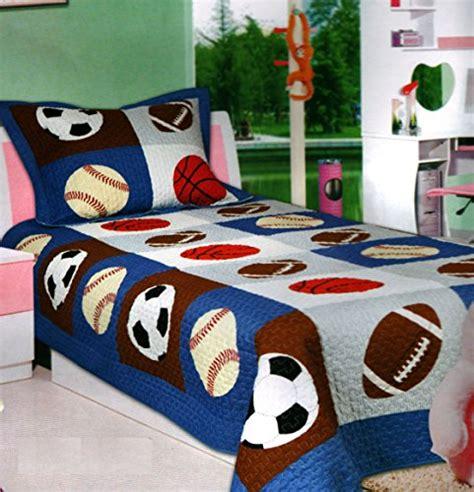 boys football bedding sets mk collection 2 pc bedspread boys sport football