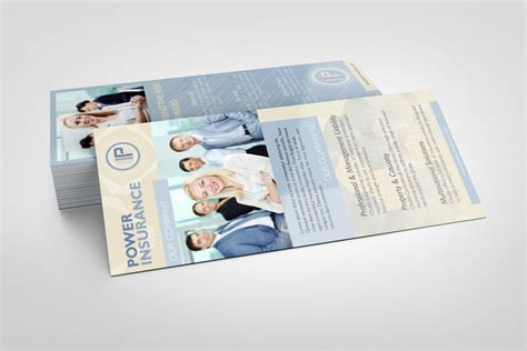 driver ed rack card templates rack card mockup graphicriver products mock up
