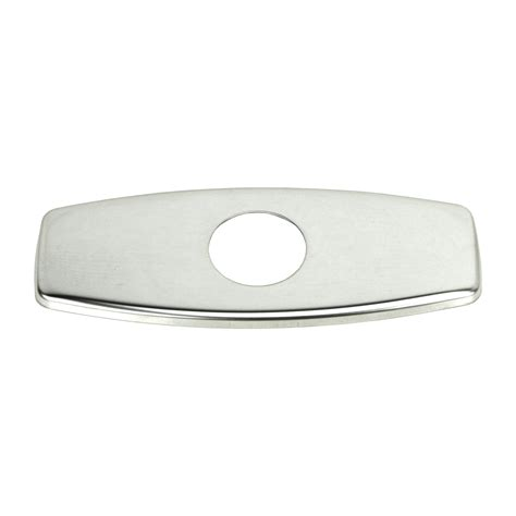 sink faucet cover polished chrome bathroom vessel sink faucet cover