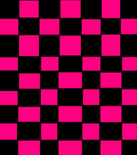 pattern black and pink black and pink checker pattern by xxemogingerwolfxx on