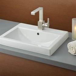 Camilla semi recessed basin cheviot
