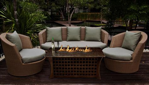 firepit coffee table outdoor pit coffee table la costa with