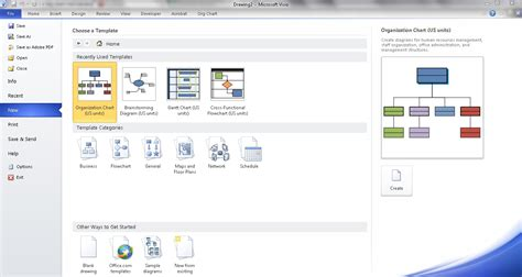 how to create org chart in visio create an org chart in visio using manual steps