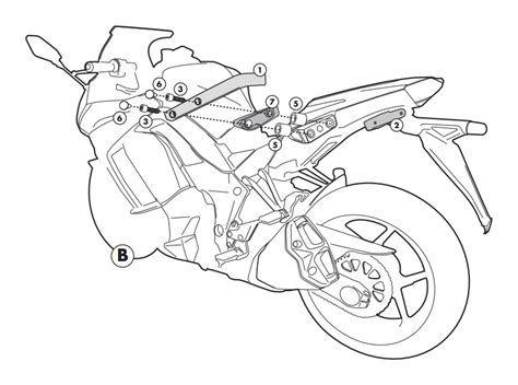 kawasaki ninja coloring pages givi 4100kit side case kit kawasaki ninja 1000 2011 2016