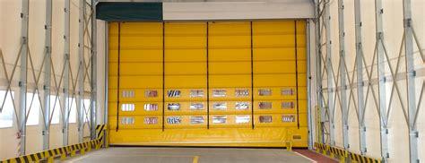 porte capannoni kopron porte rapide in pvc