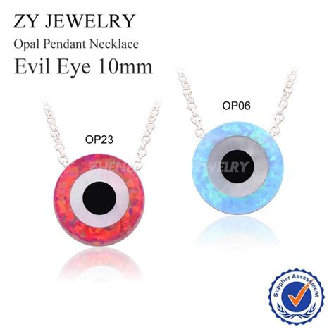 Silver Evil Eye 15 0mm Pendant aliexpress buy high quality gold plated chain