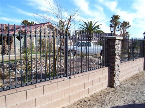 garden wall fencing option for front of home gardening