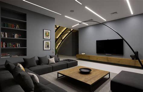 anthrazit farbe mit braun farbe wohnzimmer anthrazit farbe in moderner dachgeschosswohnung
