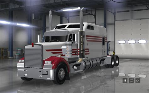 new kenworth w900 kenworth w900 long remix ats 1 5 187 american truck