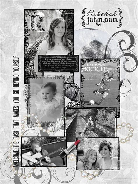 senior yearbook ad templates black and white layouts for yearbook senior yearbook