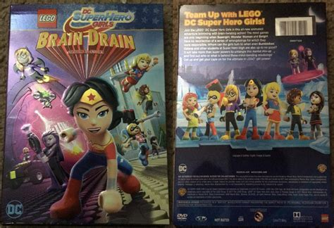 lego dc brain drain lego dc brain drain dvd review