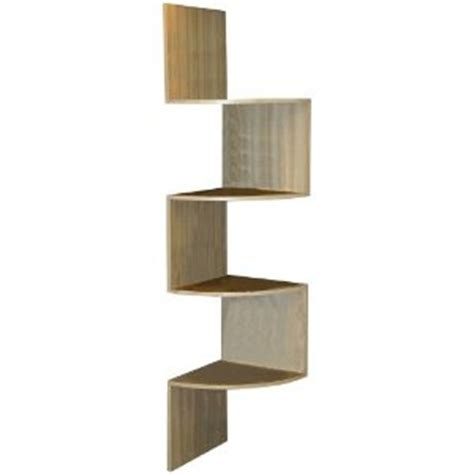 Corner Storage Shelf by 4d Concepts Hanging Corner Storage Maple