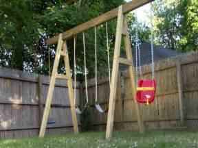 a frame wooden swing set plans