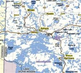 lake of the woods canada map kenora ontario on lake of the woods places i ve lived