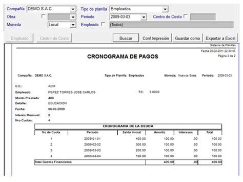 planilla de excel para previsiones de pagos 191 como registrar pr 233 stamos con el sistema sba planillas