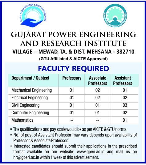 design engineer jobs gujarat jobs in gujarat power engineering and research institute