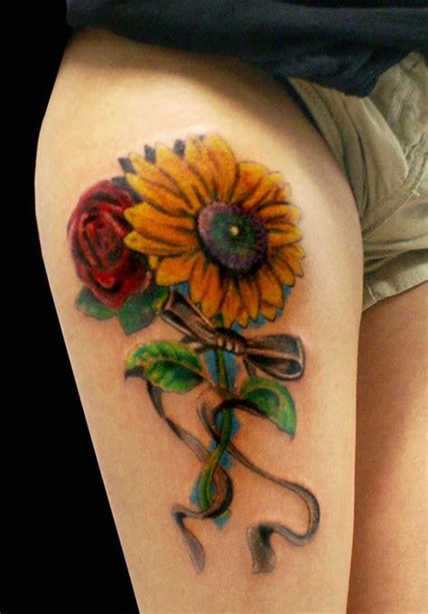 imagenes de tatuajes de girasoles tatuajes para mujer tatuajes de girasoles