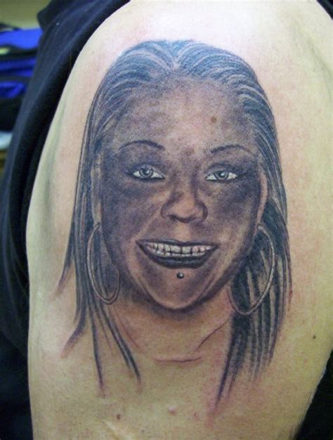 horrible tattoo bad tattoos tattoos book 65 000 tattoos