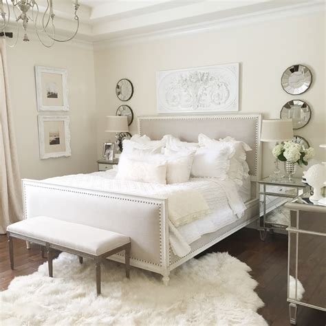 Tips For You To Give Your Bedroom An Easy Makeover White Master Bedroom Furniture