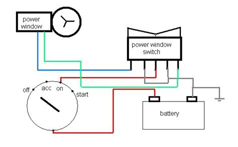 window motor wiring 4 wire 26 wiring diagram images