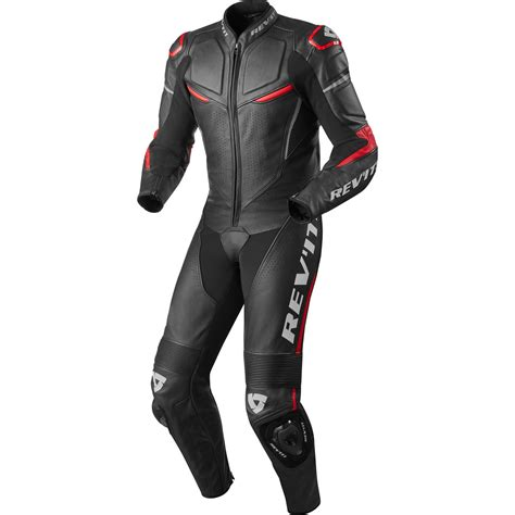 motorcycle suit rev it masaru one black leather motorcycle suit