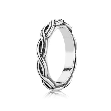 pandora silver twist ring 190872 pandora from gift and