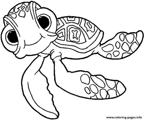finding nemo coloring pages pdf finding nemo squirt coloring pages printable