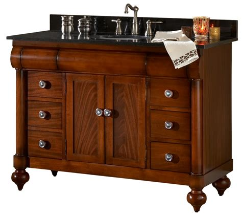 48 Bathroom Vanities With Tops 48 Inch Single Sink Bathroom Vanity With Choice Of Top Uvki348480048
