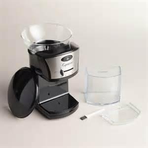 Burr Coffee Grinders For Sale Capresso Electric Burr Coffee Grinder World Market