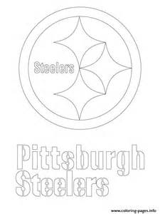 steelers coloring pages pittsburgh steelers logo football sport coloring pages