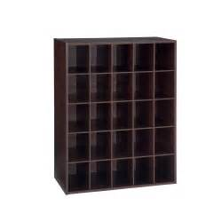 Closetmaid Cabinets Home Depot - hanada home eh 25 pair shoe organizer espresso shop your way online shopping amp earn points on