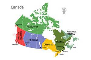 canada on map of world continent maps solution conceptdraw