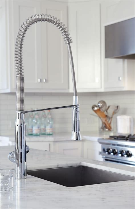 contemporary kitchen faucet contemporary kitchen faucets spaces modern with bronze