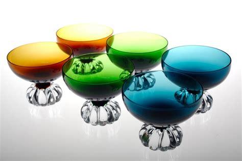 len 50er design 6 sektschalen aseda sweden vintage glas 60er 70er jahre