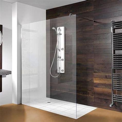 begehbare duschen breite begehbare dusche mit glas haus