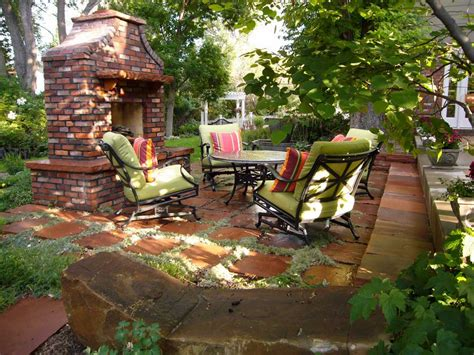Home Backyard Ideas Patio Designs The Key Element To Enhance And Accessorize The Outdoor Environment Interior