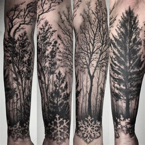 tree sleeve tattoo designs 75 tree sleeve designs for ink ideas with