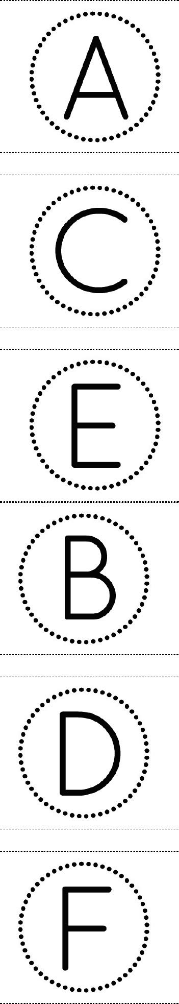printable letters in circles free printable circle banner alphabet for making