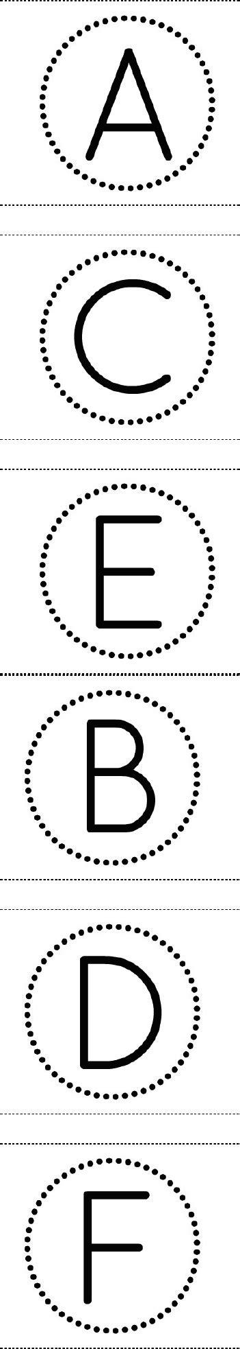 printable alphabet in circles free printable circle banner alphabet for making