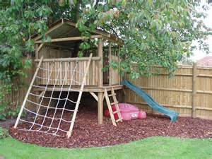 Small Garden Ideas For Children Adl Timber Structures Childrens Play Houses And Forts Garden Landscaping Sevenoaks
