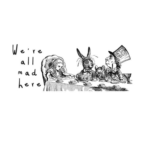 Crazy Cool Mugs alice in wonderland we re all mad here mug by oakdene