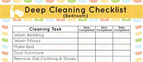 bedroom deep cleaning checklist organization deep cleaning your bedroom mom it